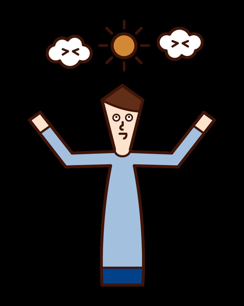 哈魯·奧里(男性)的插圖